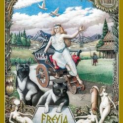 Freyja Poster Haukur Halldorsson Artist