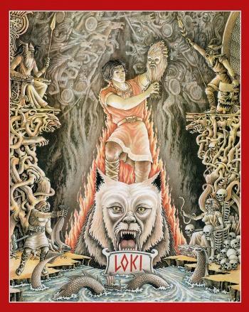 Loki Poster Haukur Halldorsson Artist