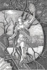 Nanna, Yggrasil divination cards haukur Halldorsson