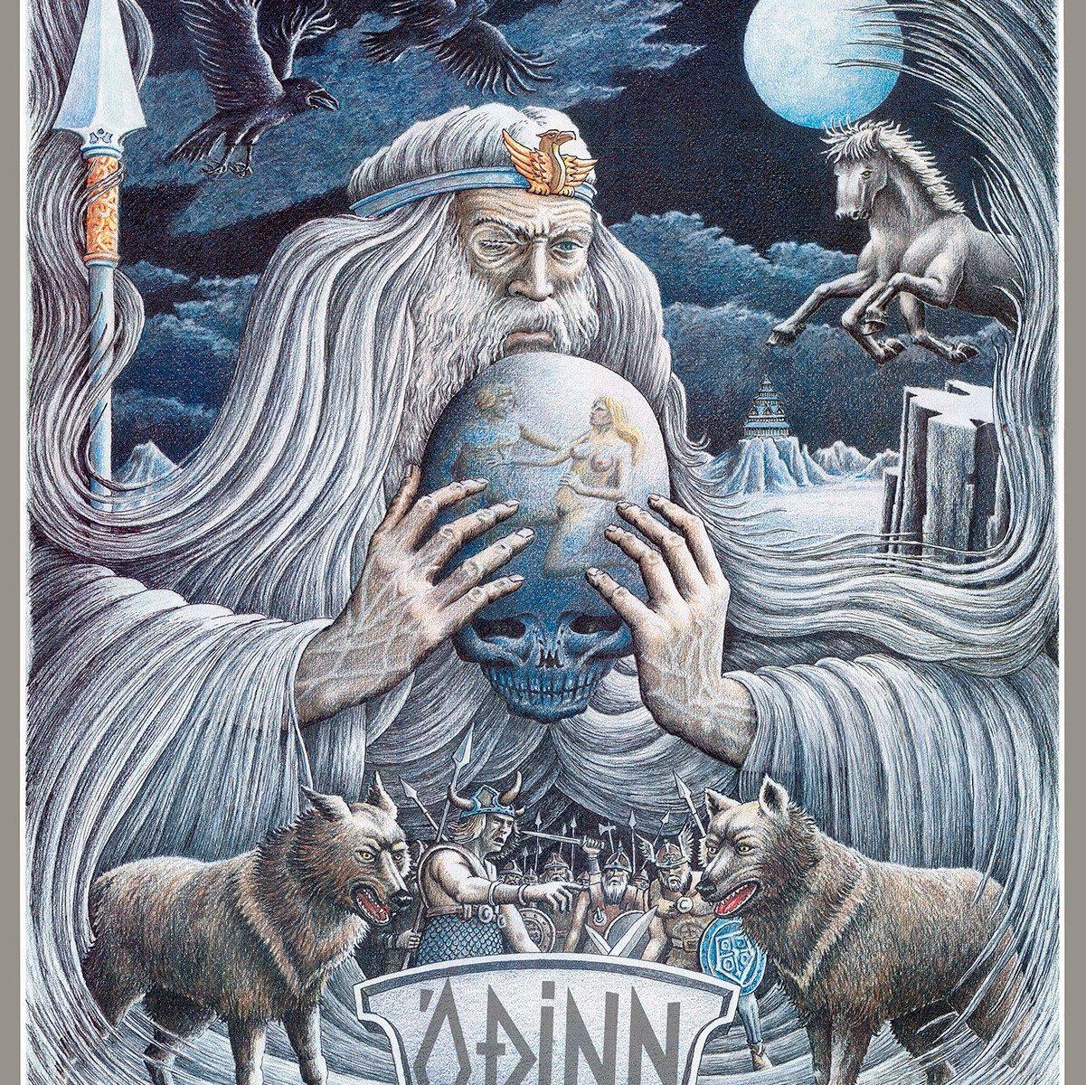 Odin Poster Haukur Halldorsson Artist