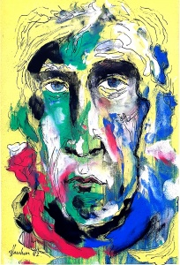 Self Portrait Haukur Halldorsson Artist 1982