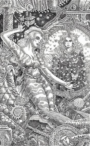 The Sisters, Yggrasil divination cards haukur Halldorsson