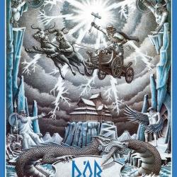 Thor Poster Haukur Halldorsson Artist