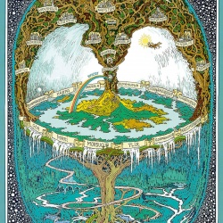 Yggdrasil Poster Haukur Halldorsson Art